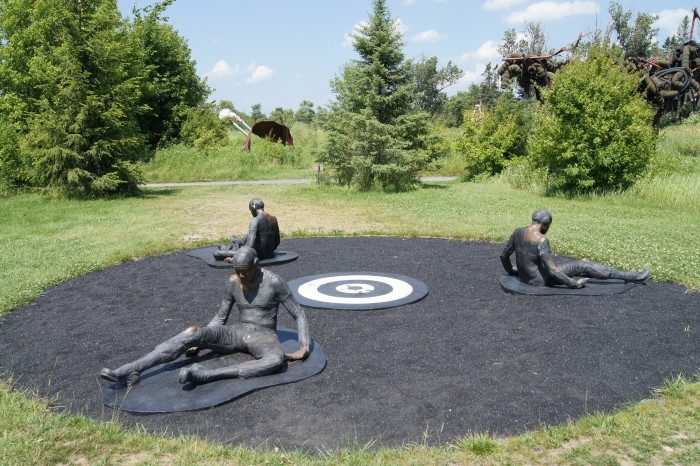 3. Explore a sculpture garden. Franconia, the Walker, and the Anderson Center are all good choices. The Anderson Center even has paved, accessible trails to help everyone enjoy the acres of art.