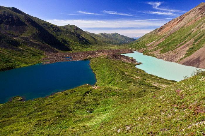 Alaska: Hike to Eagle and Symphony Lakes