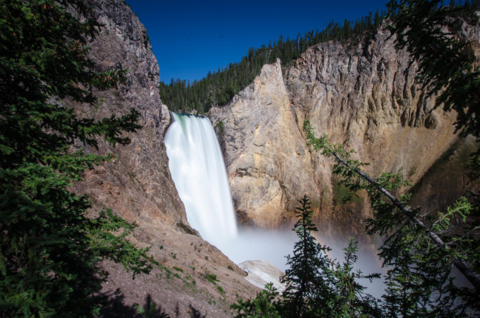 5. The Grand Canyon Of Yellowstone is reminiscent of a Japanese fairy tale called 'The Enchanted Waterfall'.