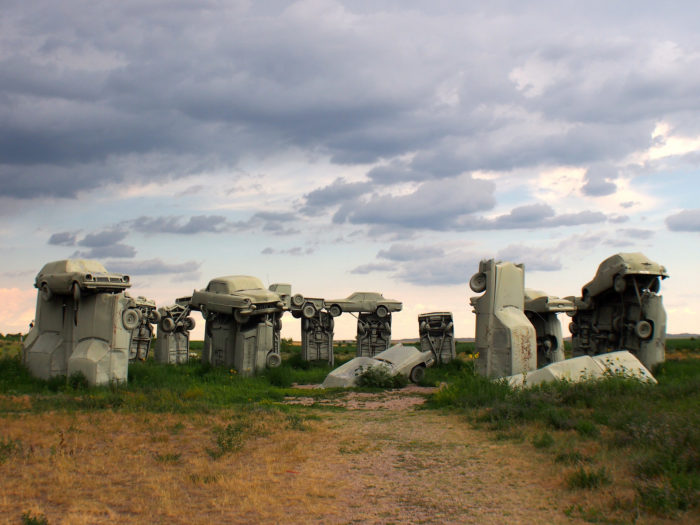 8. Not everyone likes it, but Carhenge is a Panhandle icon.