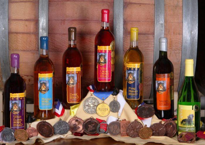 1. Hidden Legend Winery, Victor