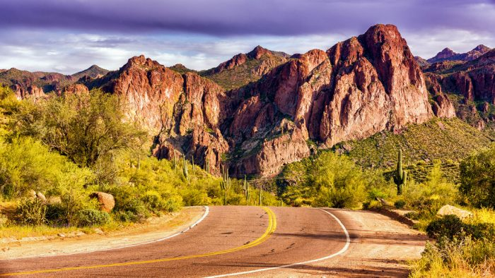 8. Instead of taking a shortcut via a highway, take the scenic route. This is perfect when traveling across the state but is even a good decision when you're driving through town.