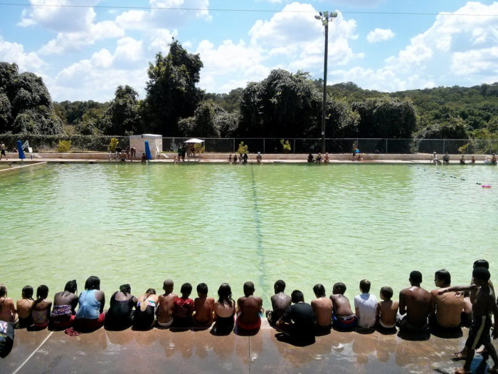 6. Deep Eddy Pool is a great place right in Austin to practice swimming laps.