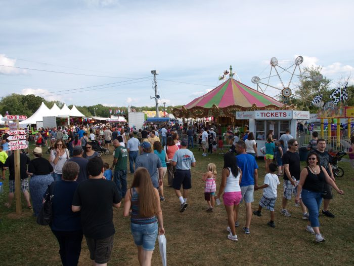 10. We are home to the Bridgewater Country Fair.