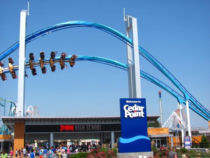 8. …as well as Cedar Point.