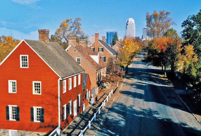 8. Old Salem, North Carolina