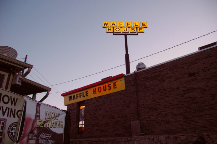 1. A Waffle House meltown
