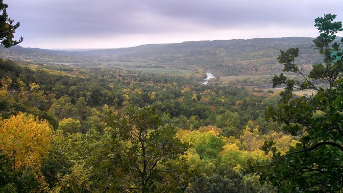 10. The breathtaking Pembina Gorge may just have a normal forest, but it could also be an enchanted forest...