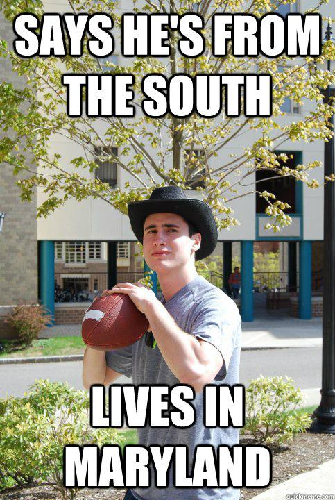 6. Maryland cowboys.