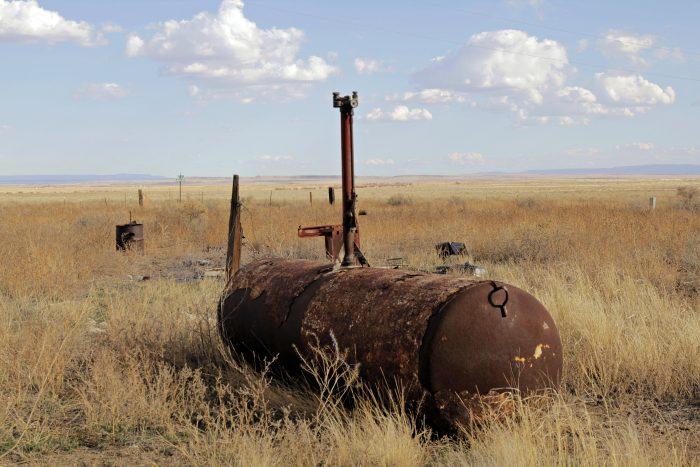 A Tank on the Prairie