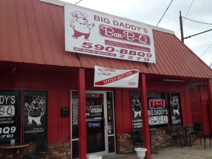 4. Big Daddy's Bar-B-Q - Warrior, AL