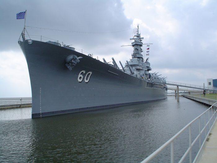 3. USS Alabama (BB-60)