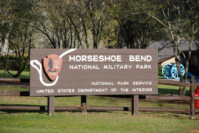 7. Horseshoe Bend National Military Park