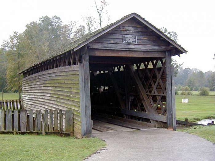 10. Coldwater Covered Bridge