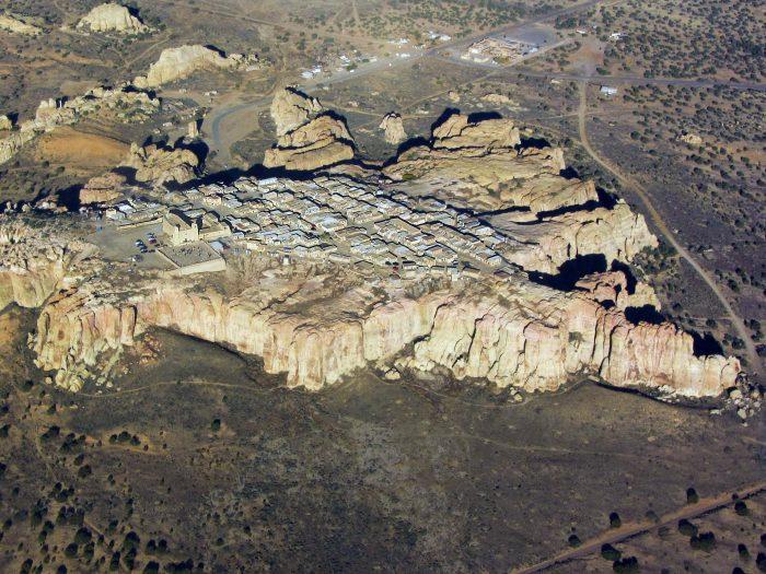 1. Acoma Pueblo (Sky City), New Mexico