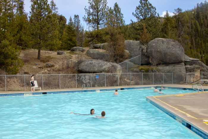 4.  Try out every public hot spring Montana has to offer.