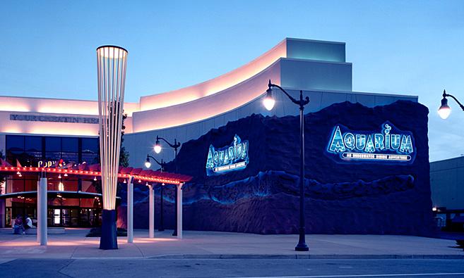 Aquarium Restaurant Nashville