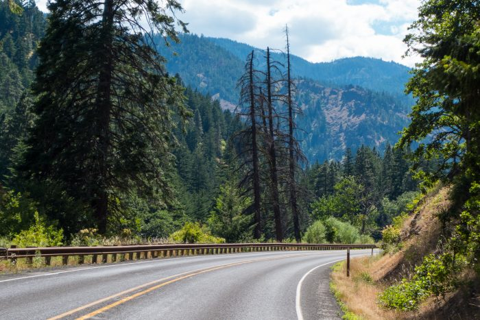 2. Take a drive down one of our scenic highways.