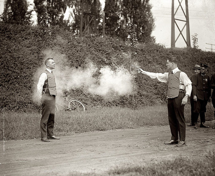 11. It is illegal to wear a bullet proof vest while committing a murder.