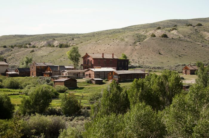 12. The ghost towns.