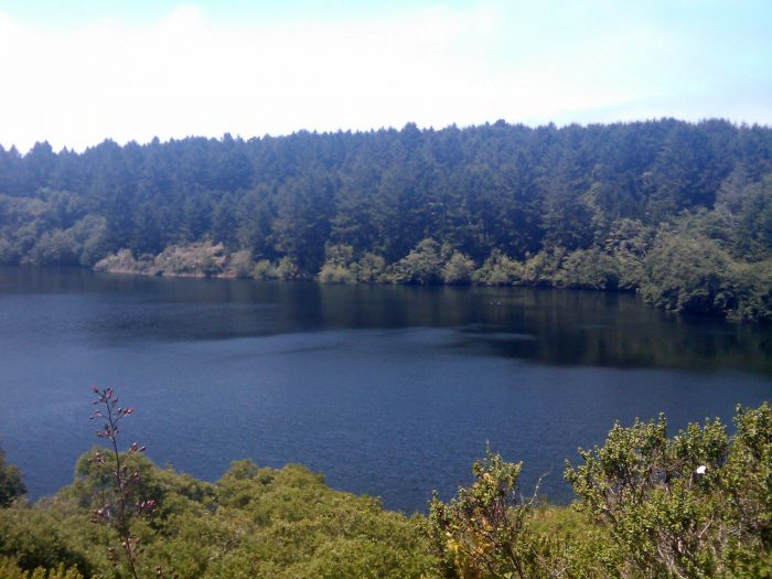 2. Bass Lake: A good spot to go for a dip on your way to Alamere Falls. And there's a rope swing!