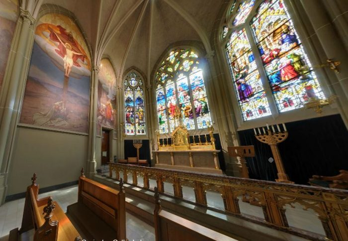 5. Beautiful stained glass windows