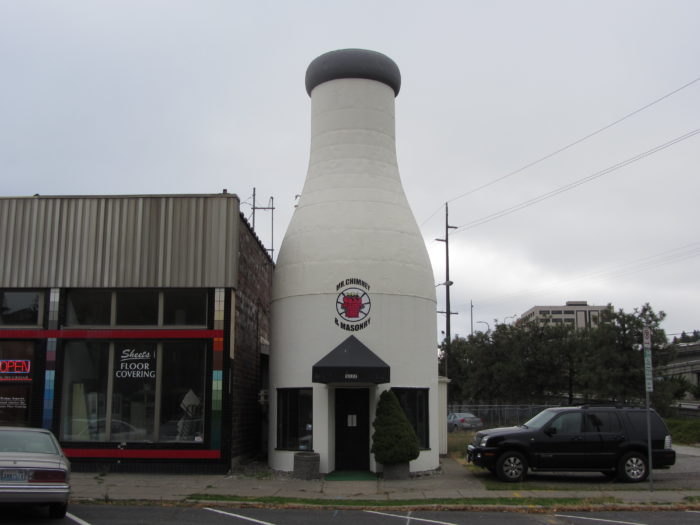 6. Benewah Milk Bottle, Spokane