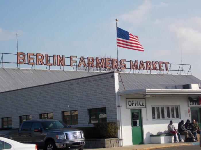 5. Berlin Farmers Market