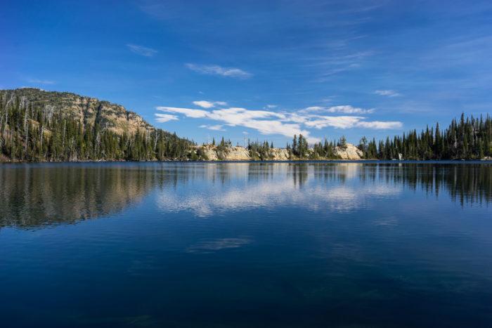 14. Birch Lake at the Jewel Basin Hiking Area.