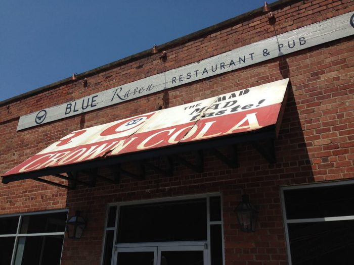 2. Blue Raven Restaurant and Pub on 211 Main Street in Pikeville