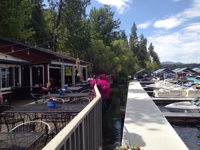 8. The Boathouse Bar & Grill, Hayden