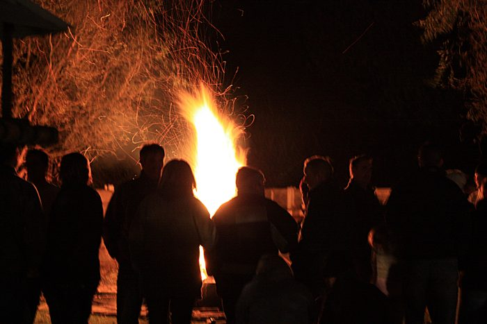 5. Before there were bars, there were bonfires and barn parties.