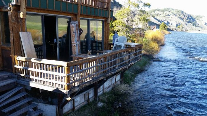 9. Bridge St. Grill and Cabins, Stanley
