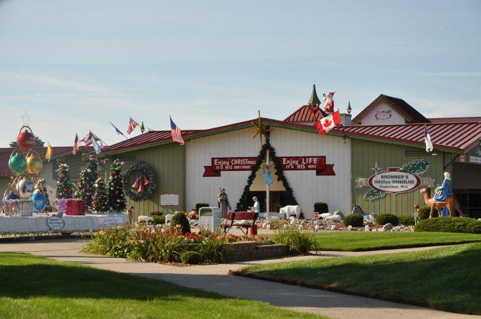 11. Bronner's Christmas Wonderland, Frankenmuth
