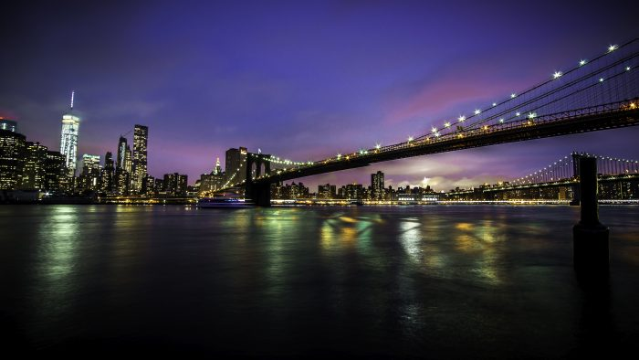 10. We have so many beautiful and iconic bridges within New York, but this one almost anyone can recognize!