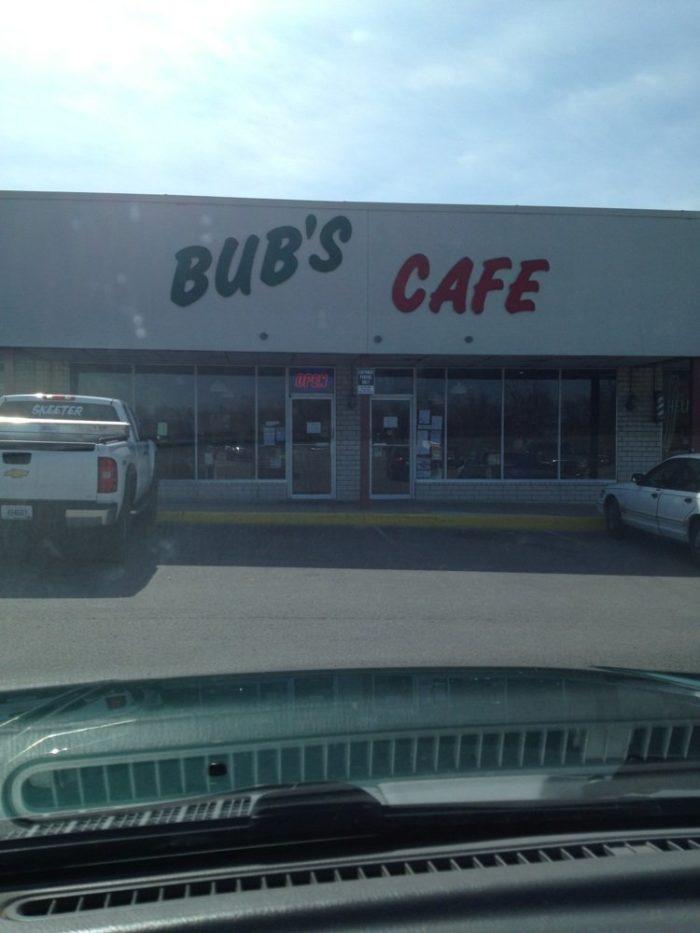 11. Bub's Café at 611 W Poplar Avenue in Elizabethtown.