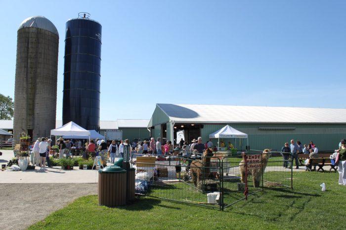 13. Burlington County Farmers Market