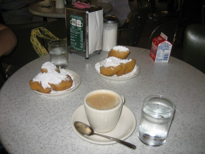10. Coffee and Beignets