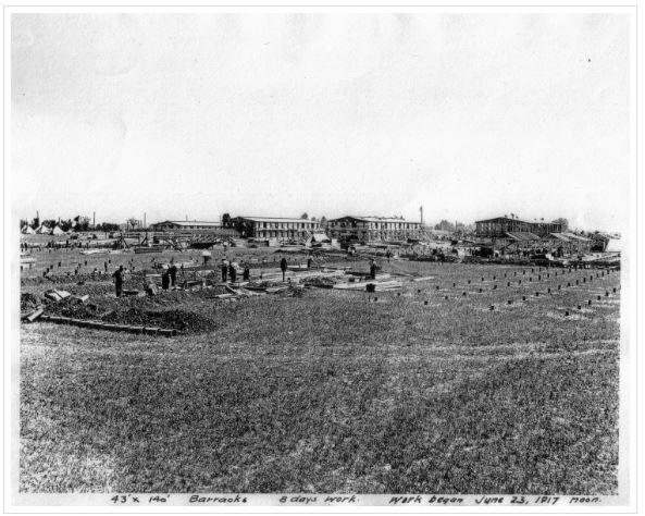 9. Camp Taylor, circa 1917