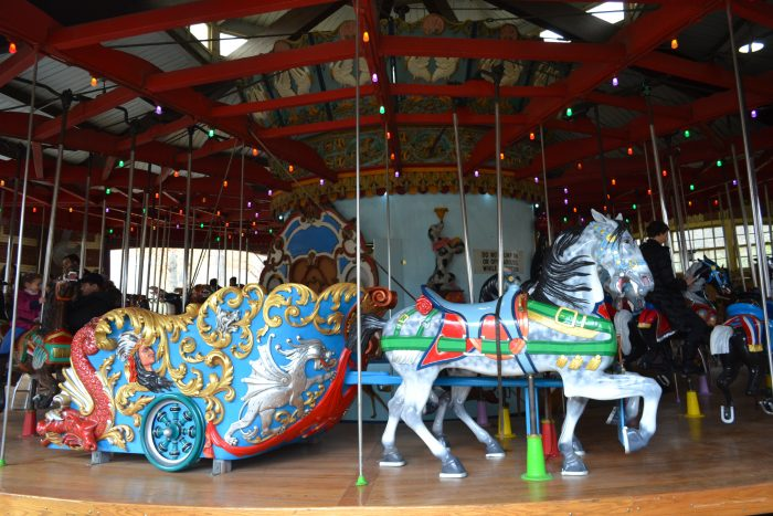 7. Rumor has it that the Central Park Carousel was once powered by live animals.