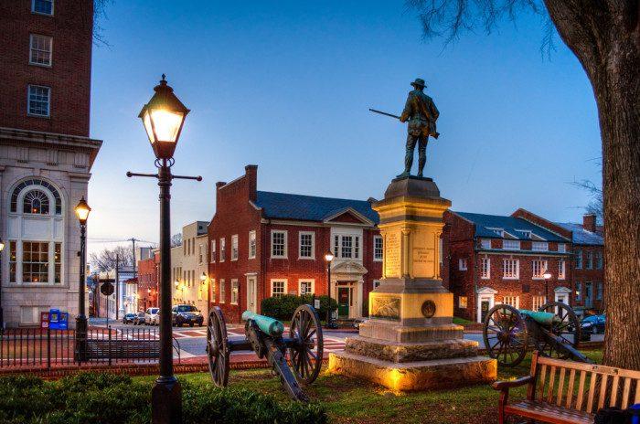 12. Virginia: Charlottesville