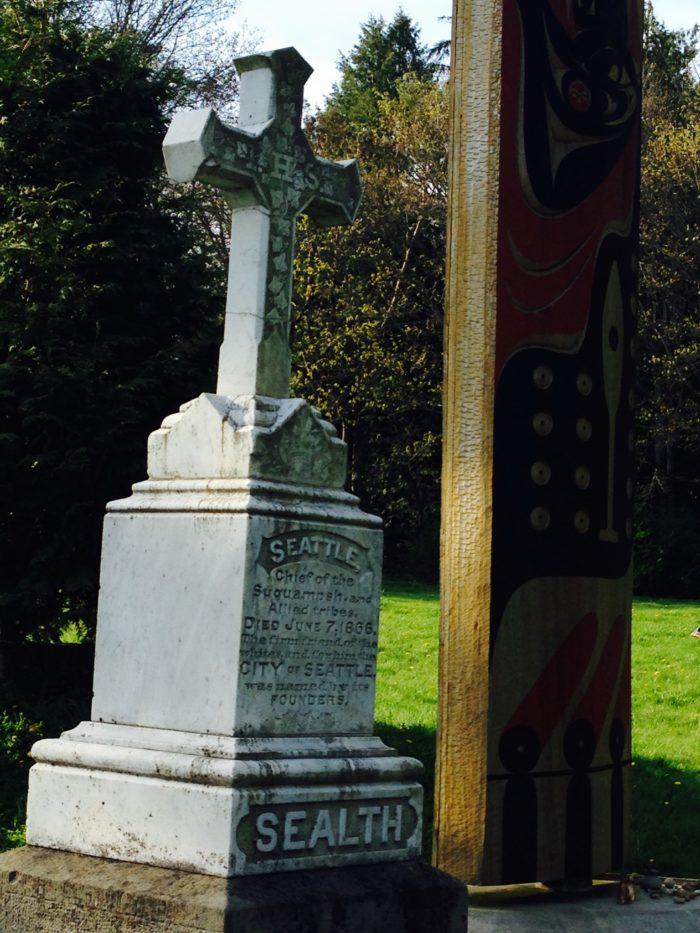 7. Burial Site of Chief Seattle, Suquamish