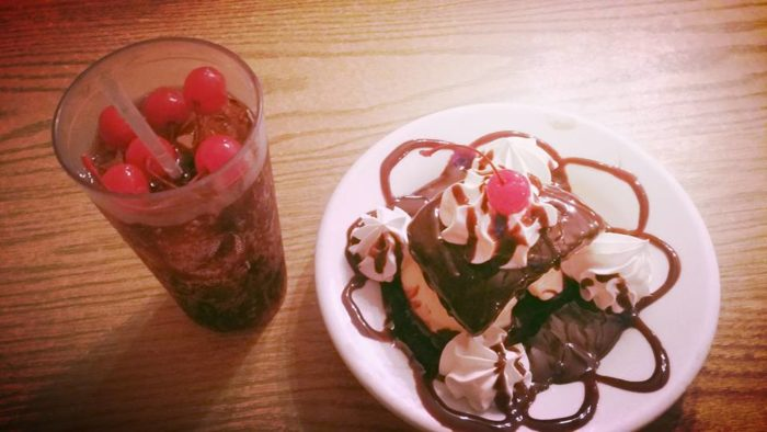 Choo Choo's food