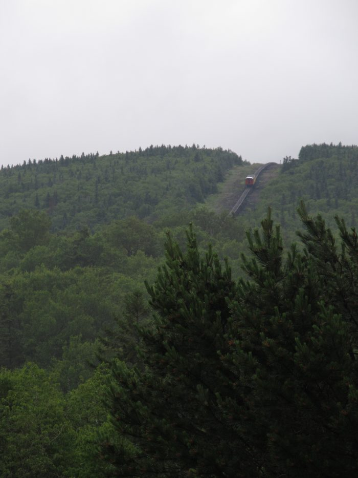 7. Cog Railway employees used a terrifying escalator to get to work everyday.
