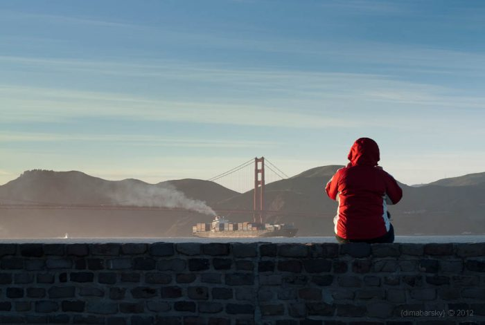 1. Sure, it's California, but it's not all daisy dukes and frolics on the beach in San Francisco. It gets pretty chilly here. It's especially cool in the summer months, and you'll quickly spot a tourist by their San Francisco fleece. Always dress in layers.