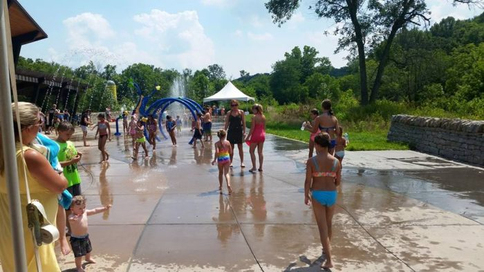 4. Creekside Playground and Sprayground at 1310 S Beckley Station Road in Floyds Fork