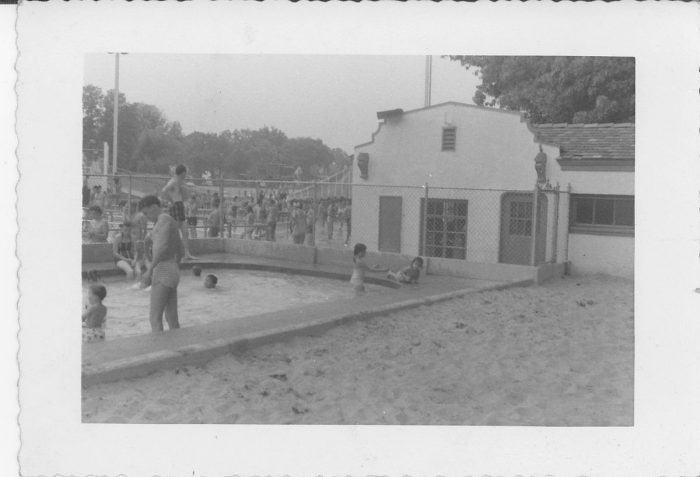 3. A summer day at Glen Echo's Crystal Pool in 1959.