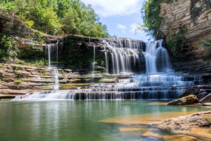 Tennessee: Cummins Falls