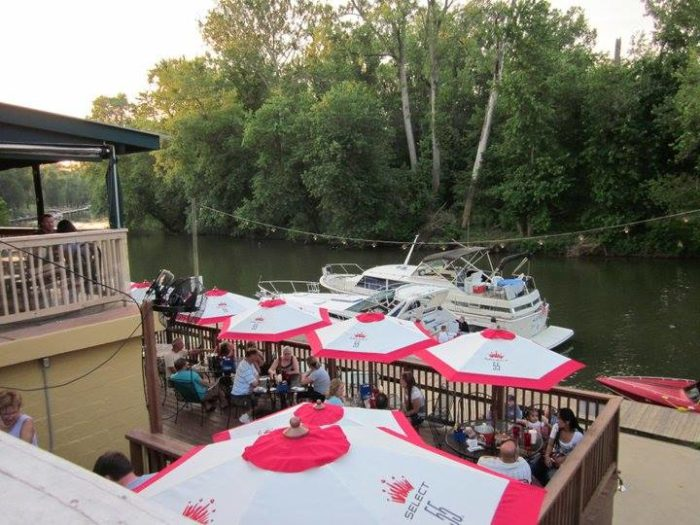 1. Cunningham's Creekside Grill at 6301 River Road in Prospect