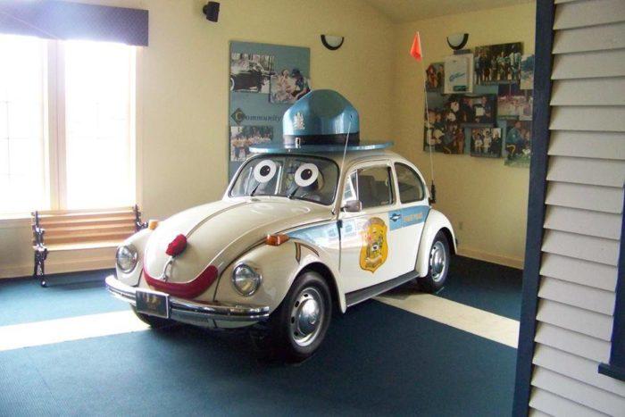 Police VW Bug